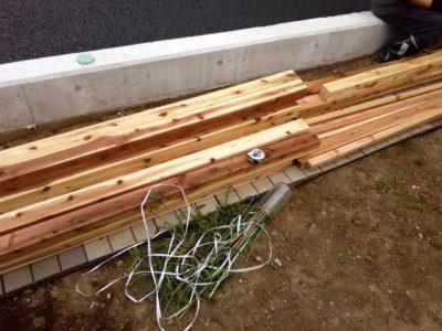 DIY小屋作り一日目01