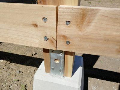 DIY小屋作り二日目05