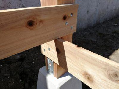 DIY小屋作り二日目06