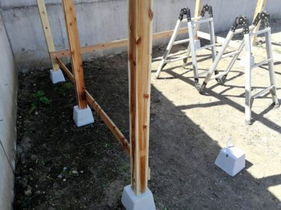 DIY小屋作り二日目07