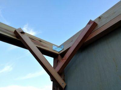 DIY小屋作り二日目09