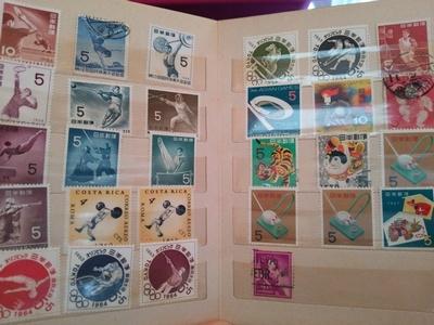 オリンピック記念の5円切手たち