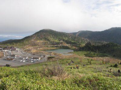 草津白根山からの眺め