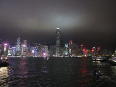 九龍公衆碼頭からの夜景(遠景)