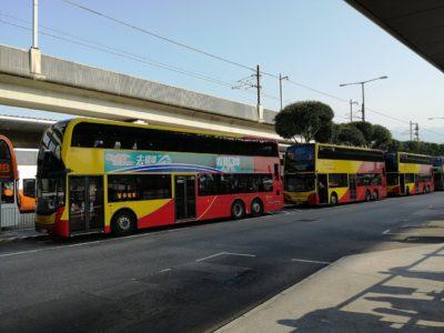 香港国際空港A21バス乗り場