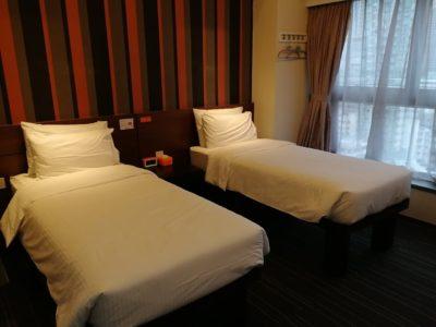 Le Prabelle HotelのQuad Suite ベッド