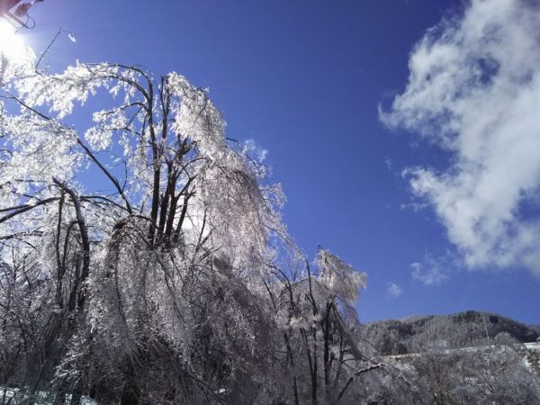 晴天と雨氷2