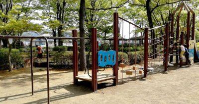 川中島古戦場史跡公園の遊具