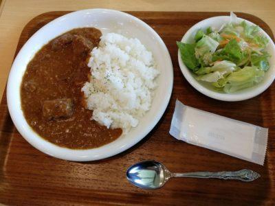 長門牧場のレストラン:ビーフカレー