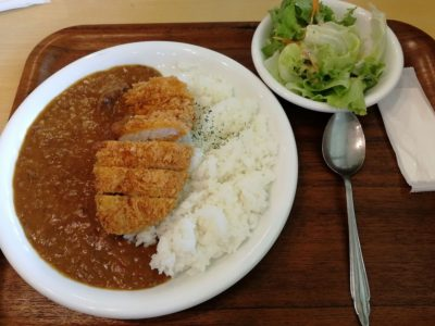 長門牧場のレストラン:カツカレー