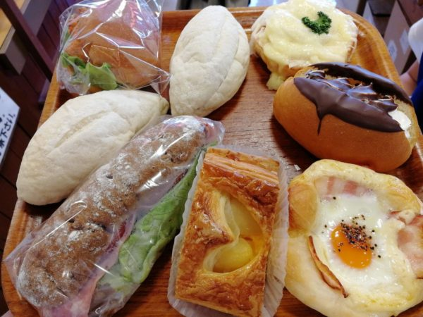 今回購入したパンたちの一部